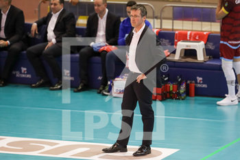 07/03/2020 - coach Lorenzo Tubertini Top Volley Cisterna - TOP VOLLEY LATINA VS CALZEDONIA VERONA - SUPERLEGA SERIE A - VOLLEY