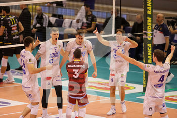 07/03/2020 - esultanza Top Volley Cisterna - TOP VOLLEY LATINA VS CALZEDONIA VERONA - SUPERLEGA SERIE A - VOLLEY
