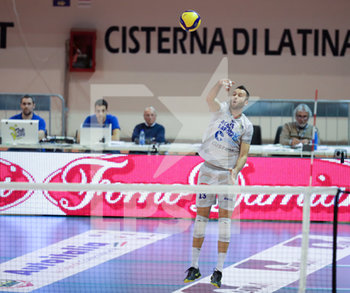 07/03/2020 - Andrea Rossi Top Volley Cisterna - TOP VOLLEY LATINA VS CALZEDONIA VERONA - SUPERLEGA SERIE A - VOLLEY