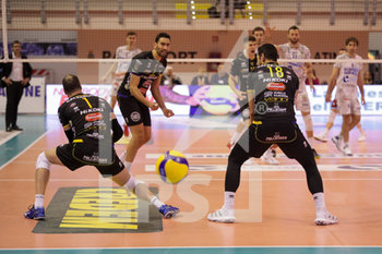07/03/2020 - difesa Calzedonia Verona - TOP VOLLEY LATINA VS CALZEDONIA VERONA - SUPERLEGA SERIE A - VOLLEY