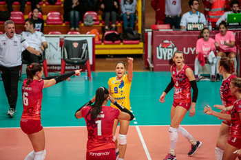 CEV CUP Unet e work Busto Arsizio Vs Dresdnar FC - CEV CUP WOMEN - VOLLEY