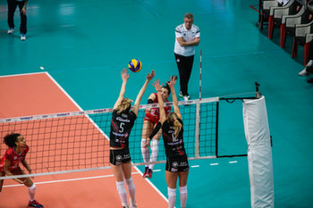 07/02/2019 - genanri-mulhouse - UNET E WORK BUSTO ARSIZIO VS MULHOUSE - CEV CUP WOMEN - VOLLEY