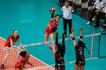 07/02/2019 - herbots-mulhuse - UNET E WORK BUSTO ARSIZIO VS MULHOUSE - CEV CUP WOMEN - VOLLEY
