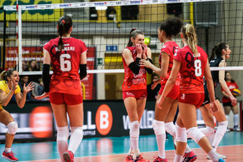 07/02/2019 - uyba - UNET E WORK BUSTO ARSIZIO VS MULHOUSE - CEV CUP WOMEN - VOLLEY