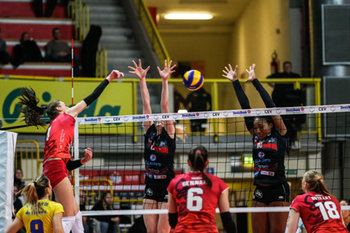 07/02/2019 - herbots-mulhouse - UNET E WORK BUSTO ARSIZIO VS MULHOUSE - CEV CUP WOMEN - VOLLEY