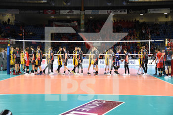 10/04/2019 - Inizio del match - CUCINE LUBE CIVITANOVA (ITA) VS PGE SKRA BELCHATOW (POL) - CHAMPIONS LEAGUE MEN - VOLLEY