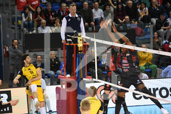 10/04/2019 - Schiacciata di Renee Teppan  - CUCINE LUBE CIVITANOVA (ITA) VS PGE SKRA BELCHATOW (POL) - CHAMPIONS LEAGUE MEN - VOLLEY