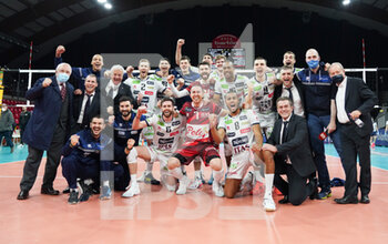 VOLLEY - CHAMPIONS LEAGUE MEN - Playoff 2017/18 - Ceramica Scarabeo GFC Roma vs Gioiella Micromilk Gioia del Colle